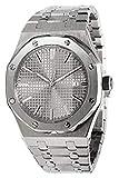 PARNIS 9078 Miyota - Reloj de Pulsera para Hombre (automático, Calibre 821A...