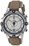 Timex Men's Intelligent Quartz Compass Chronograph Offwhite Dial Watch