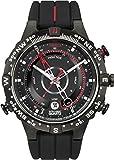 Timex Intelligent Quartz - Reloj análogico de cuarzo con correa de silicona...