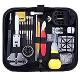 Zacro 151 Pcs Kit de Reparación de Relojes, con Herramientas de Reloj Barra de...