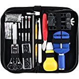 Kaisi Reloj de reparación de herramientas, kit relojero destornillador...