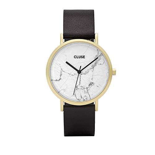 CLUSE Reloj Analógico para Mujer de Cuarzo con Correa en Cuero CL40003