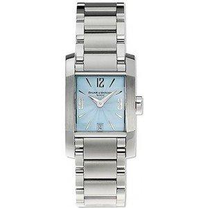 Baume&Mercier Reloj Análogo clásico para Mujer de Cuarzo con Correa en Acero Inoxidable M0A08572