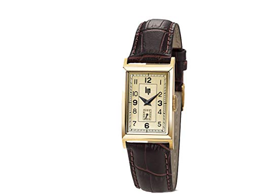 Lip Churchill–Reloj Mujer–h671m006–Pulsera Piel Marrón–Reloj Color Dorado