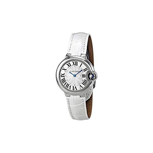 Cartier Ballon Bleu De Cartier Mujer 33mm pulsera piel caja acero inoxidable cuarzo reloj W6920086