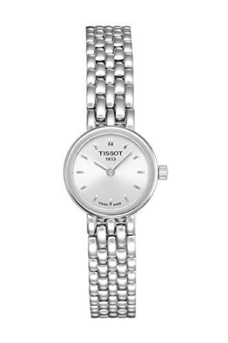 Tissot Lovely T0580091103100 - Reloj de Mujer de Cuarzo, Correa de Acero Inoxidable Color Plata