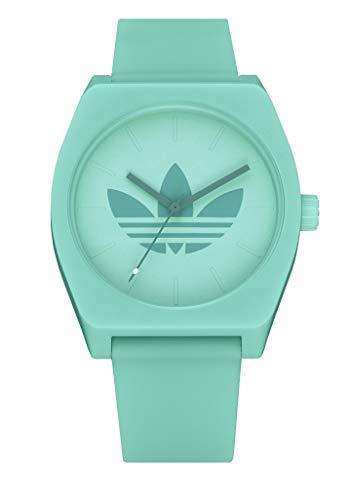 adidas Originals Watches Process_SP1 Silicone Strap, 20mm Width (34mm) - Trefoil/Prism Mint