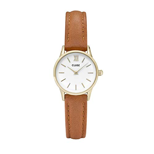 Cluse Reloj Analógico para Mujer de Cuarzo con Correa en Cuero CL50022