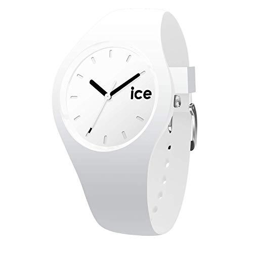 ICE-WATCH ICE Ola White - Reloj Blanco para Mujer con Correa de Silicona, 001227 (Medium)
