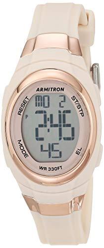 Armitron Sport Reloj Digital para Mujeres de Cuarzo con Correa en Resina 45/7034PBH