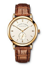A. Lange & Söhne 215.021 - Reloj de Pulsera Hombre, Piel