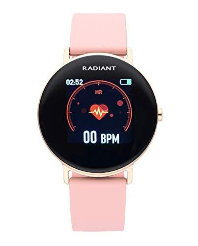 Reloj Smart de Radiant. Colección Wall Street (Rosa)