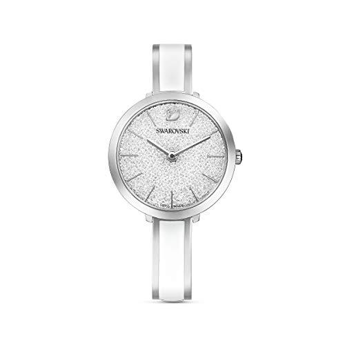 Swarovski Reloj Octea Lux Sport, Brazalete de metal, Blanco, Acero inoxidable