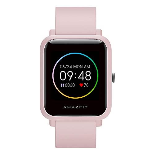 Amazfit Bip S Lite Smartwatch Ftiness Reloj Inteligente Deporte Pantalla Transflectiva Siempre Encendida Duración de la batería 30 días Monitoreo del sueño Y Frecuencia Cardíaca para mujer y hombre