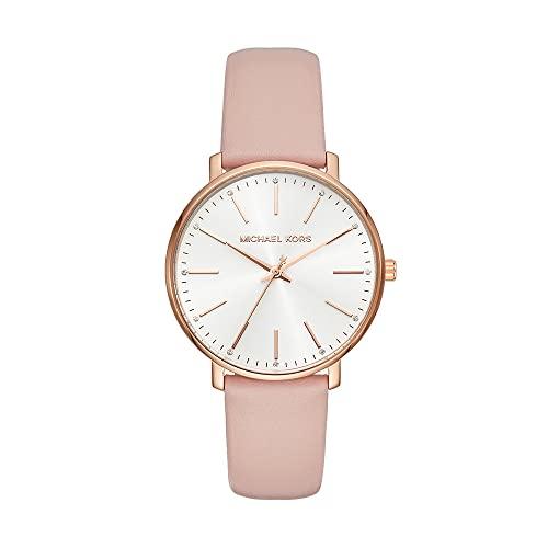 Michael Kors Reloj Analogico para Mujer de Cuarzo con Correa en Cuero MK2741