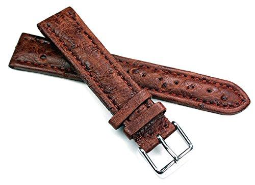 Unbekannt 0741498601217 - Correa para reloj, Cuero, color Marrón