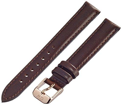 Daniel Wellington 1003DW - Correa de Cuero para Reloj de Mujer, Color marrón (13.0 mm)