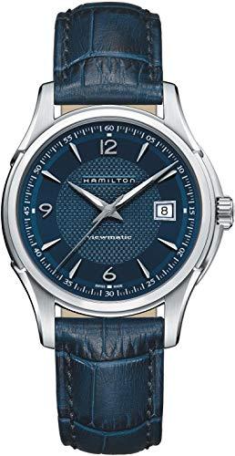Hamilton Jazzmaster Viewmatic reloj automático para hombre con esfera azul H32515641