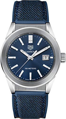Tag Heuer Carrera WBG1310.FT6115 - Reloj de Pulsera (tamaño Mediano), Color Azul