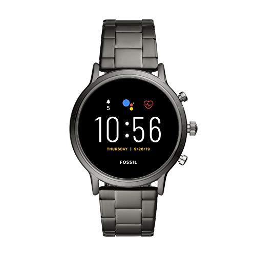 Fossil Smartwatch Pantalla táctil para Hombre de Connected con Correa en Acero Inoxidable FTW4024
