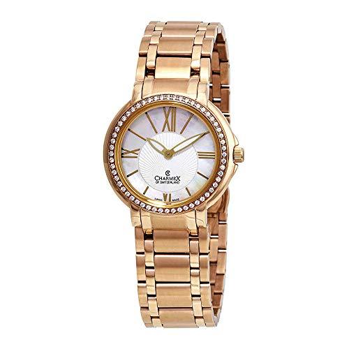 Charmex Malibu 6420 - Reloj de Pulsera para Mujer (Esfera de Madreperla)