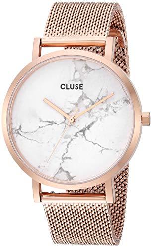 CLUSE Reloj Analógico para Mujer de Cuarzo con Correa en Acero Inoxidable CW0101204001
