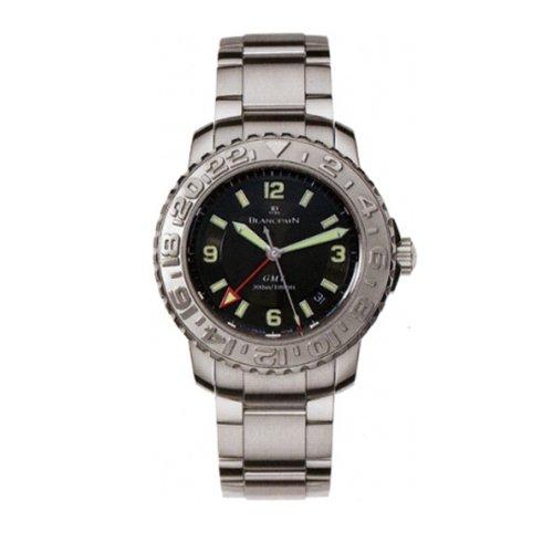 Blancpain 2250-1130-71 - Reloj para Hombres, Correa de Acero Inoxidable Color Plateado