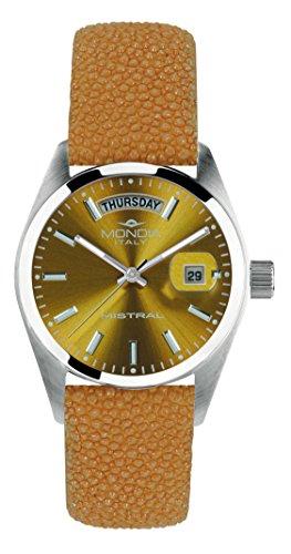 Mondia Italy MISTRAL MI742-4CP - Reloj de pulsera para mujer, correa de auténtica raza.