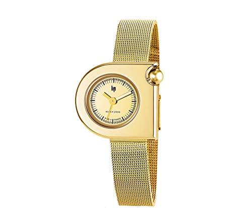 Lip Mach 2000Mini–Reloj Mujer–h671m105–Milanais Dorado–Reloj Color Dorado