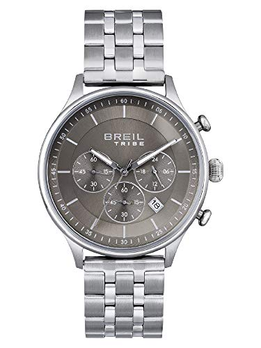 BREIL - Reloj para Hombre Redondo con Esfera Monocolor y Caja de Acero Colección Classy ES One Size