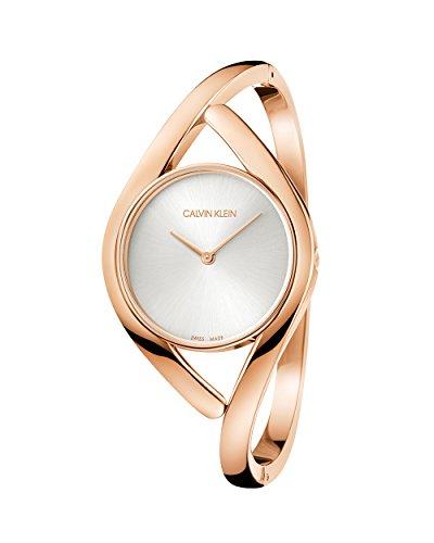 Calvin Klein Reloj Analógico para Mujer de Cuarzo con Correa en Acero Inoxidable K8U2M616