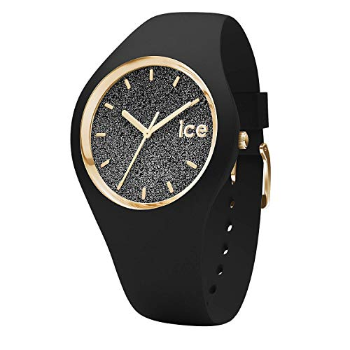 Ice-Watch - ICE glitter Black - Reloj nero para Mujer con Correa de silicona - 001349 (Small)