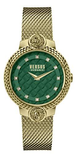 Versus Versace Reloj Analógico para Mujer de Cuarzo con Correa en Acero Inoxidable VSPLK1620