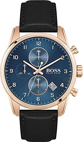 Hugo BOSS Reloj para de Cuarzo con Correa en Cuero 1513783