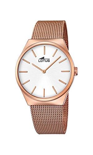 Lotus Reloj Analógico para Unisex de Cuarzo con Correa en Acero Inoxidable 18286_1