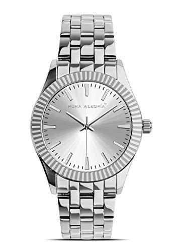 Reloj PURA ALEGRÍA Mujer Silver Armour