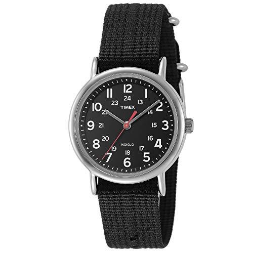 Timex Reloj análogico de cuarzo para Unisex adulto con correa de nailon 77301