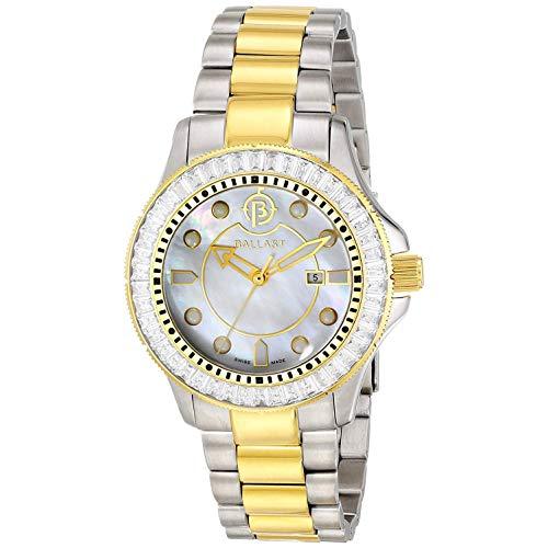 Ballast Reloj de Mujer Cuarzo Suizo 38mm Correa y Caja de Acero BL-5101-55
