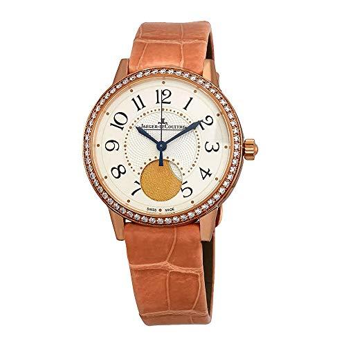 Jaeger LeCoultre Rendez-Vous - Reloj de Pulsera automático para Mujer, Piel Rosa, Q3572420