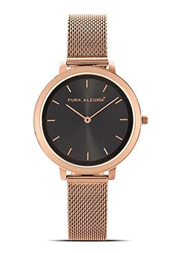 Reloj Pura ALEGRÍA Mujer Black Rose