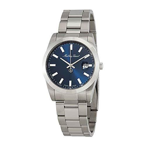 Mathey-Tissot Rolly I Blue Dial H450ABU - Reloj para Hombre