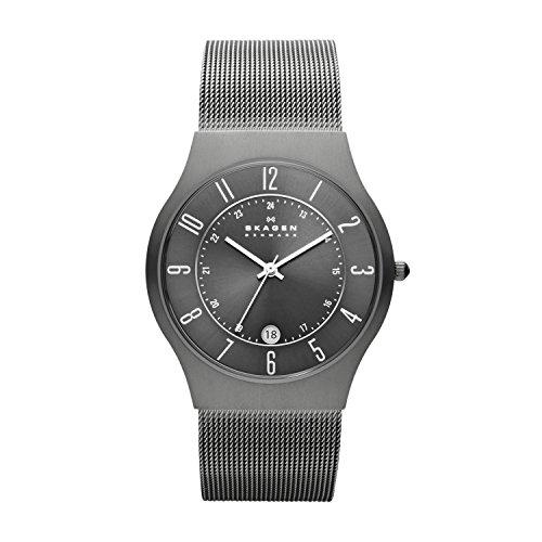Skagen Reloj de pulsera Analógico para Hombre de Cuarzo con Correa en Acero inoxidable 233XLTTM