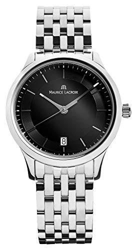 Maurice Lacroix Les Classiques LC1237-SS002-330 Reloj de Pulsera para Hombres Muy Elegante