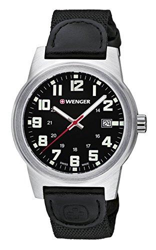 Wenger Reloj Analogico para Hombre de Cuarzo con Correa en Nailon 01.0441.137