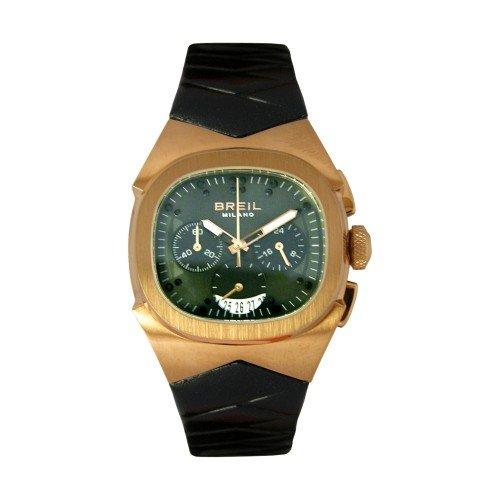 Breil Milano BW0363 - Reloj de Mujer de Cuarzo, Correa de Piel Color Negro