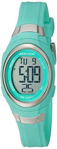 Armitron Sport Reloj Digital para Mujer de Cuarzo con Correa en Resina 45/7034TEL