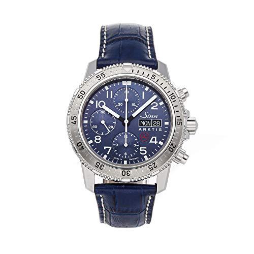 Sinn Arktis 206.012 Reloj mecánico (automático) para hombre con esfera azul (certificado de propiedad prefabricado)