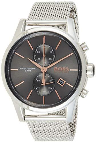 Hugo BOSS Reloj Cronógrafo para Hombre de Cuarzo con Correa en Acero Inoxidable 1513440