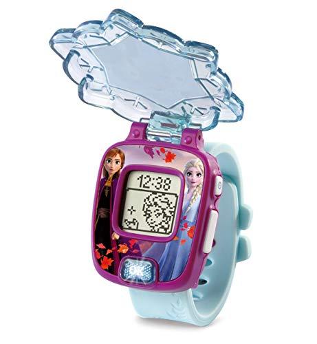 VTech- Frozen II, Anna y Elsa Disney Reloj Mágico Educativo, Multicolor, única (3480-518822)