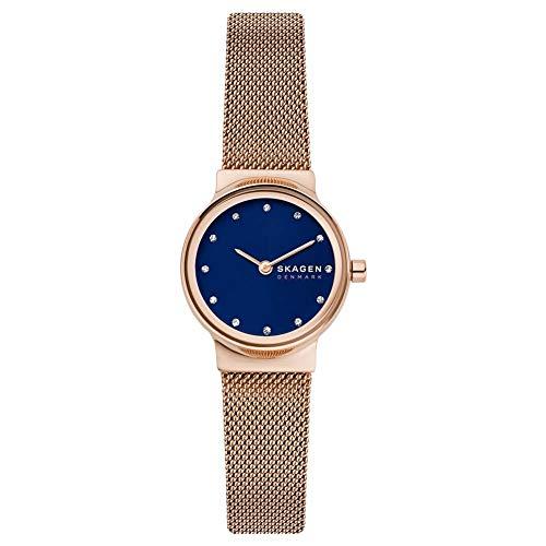 Skagen Freja - Reloj analógico para Mujer con Correa de Malla de Acero - SKW2740